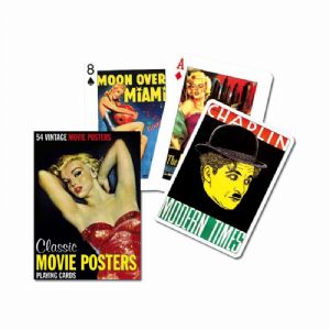 Classic Movie Posters set of playing cards    (gib)